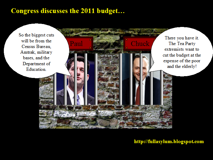 Congress discusses the 2011 budget