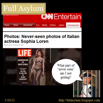 CNN: Never Seen Photos of Sophia Loren!