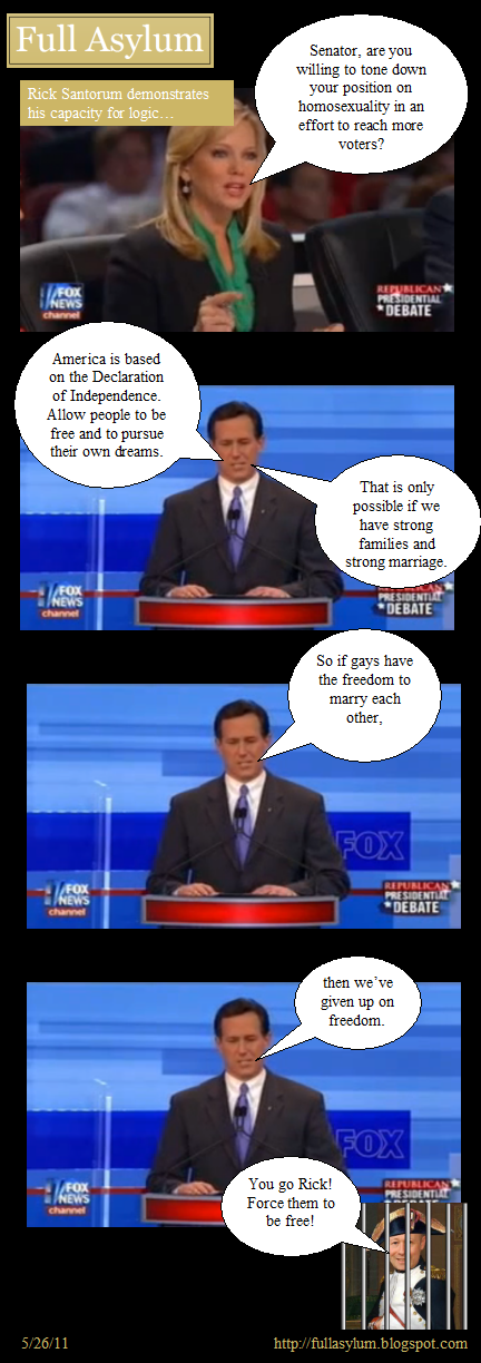 Santorum on Gay Rights