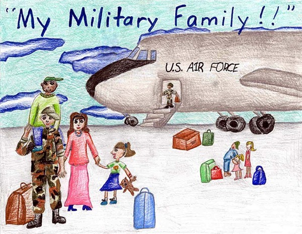 My Military Family by Heather Burke