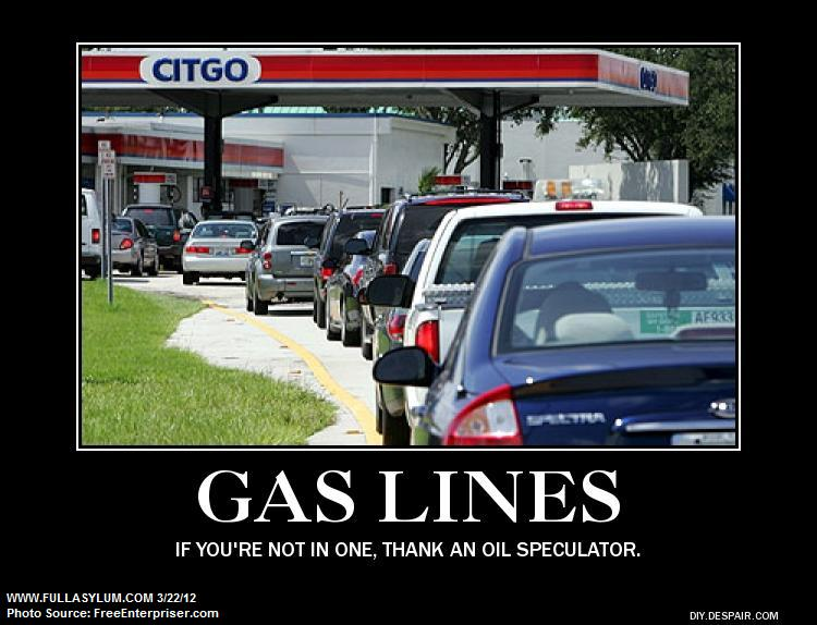 Thank an Oil Speculator