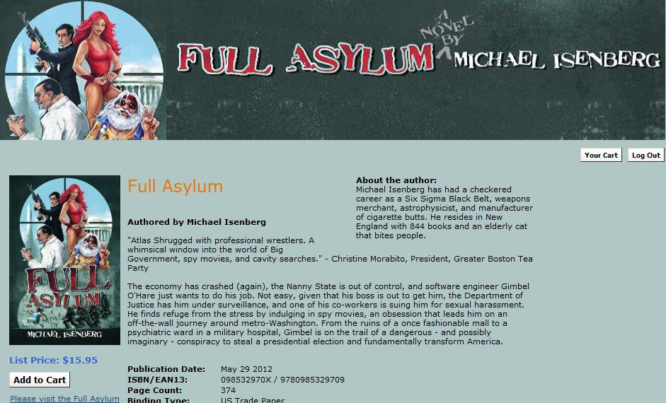 Full Asylum Now Available in Print