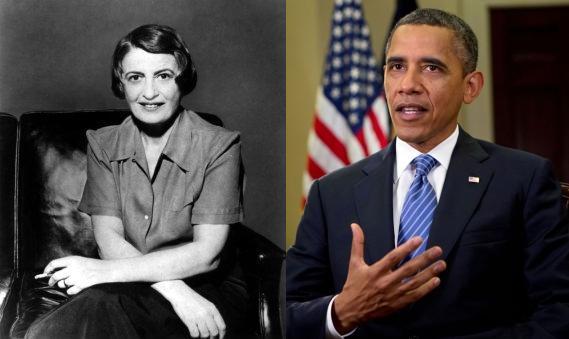 Ayn Rand, Barack Obama