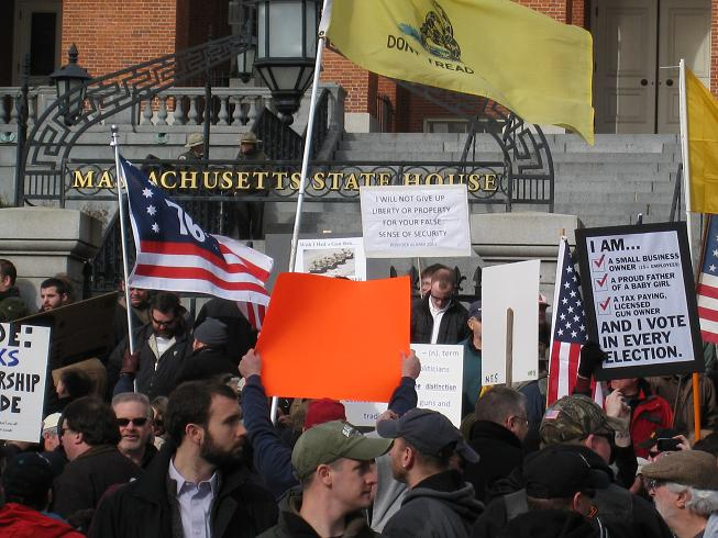 MA 2nd Amendment Demonstration