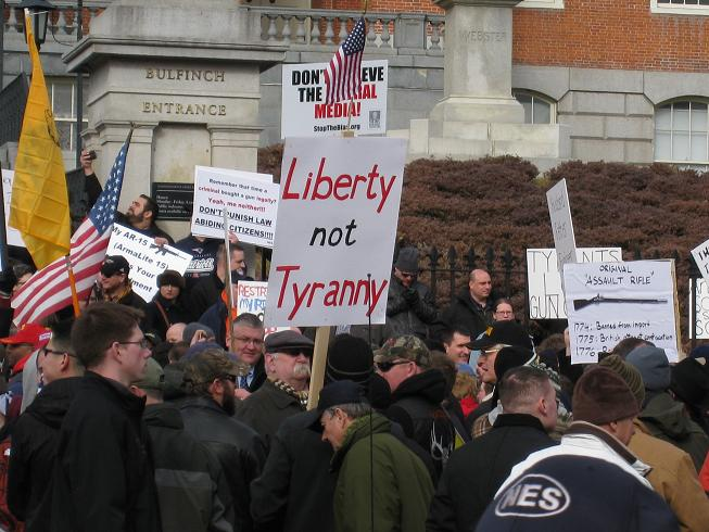 Liberty, not tyranny.